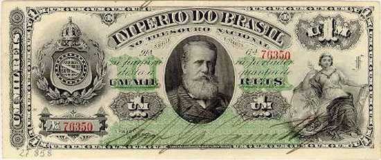 Herança da colonização, os réis eram o dinheiro corrente em Portugal e passou a circular por aqui já no século 15. Após a independência, os réis permaneceram em circulação e só foram substituídos nos anos 1940.