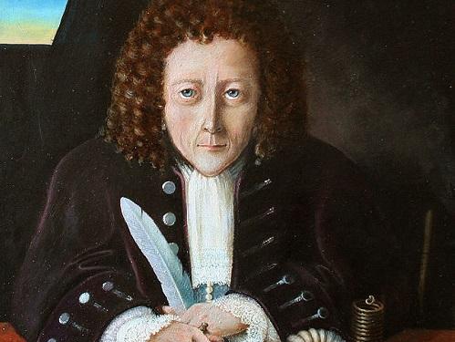 Em 1665, o cientista e filósofo inglês Robert Hooke fez a primeira descrição de uma célula. (Foto: Wikimedia Commons)