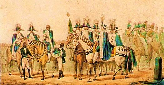SABINADA - Nos anos de 1837 e 1838 a Bahia foi tomada pela Sabinada, uma revolta que pedia a autonomia política do estado. Para os baianos, um dos motivos de descontentamento era a forte presença portuguesa na vida local, já que os portugueses ainda ocupavam cargos importantes na sociedade. Os rebeldes exigiam a deportação dos portugueses e o fim das pensões que eram pagam a eles.