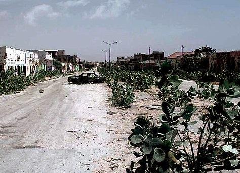A Somália (foto), que fica no chamado Chifre Africano, tem uma das situações mais críticas do continente. O país vive em Guerra Civil desde de 1991 e teve suas instituições - governo, justiça, polícia - dissolvidas. (Foto: Wikimedia Commons)