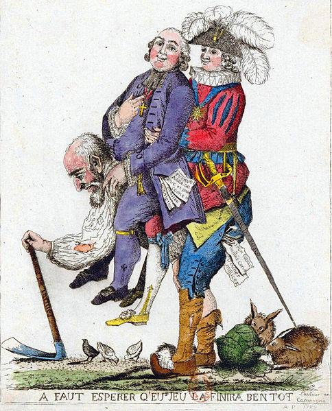 Antes da revolução, 97% da população fazia parte do chamado Terceiro Estado, formado por camponeses, pequenos proprietários de terras e burguesia, entre outros. Eles arcavam com toda a carga tributária do país.