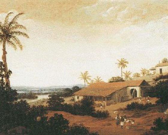 Em 1632, Domingos Fernandes Calabar, um contrabandista e senhor de engenho em Pernambuco, decidiu juntar-se aos holandeses da Companhia das Índias Ocidentais que pilhavam o Nordeste desde a década anterior. Os préstimos de Calabar foram vitais para que a Holanda estendesse seus domínios de Pernambuco até o Rio Grande do Norte. Capturado pelos portugueses em 1635, ele foi estrangulado e esquartejado. Imagem: Getty Images