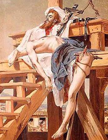 Em 1789, ele entregou os inconfidentes mineiros para ter suas dívidas com a coroa portuguesa perdoadas. Seu amigo Tiradentes acabou enforcado e esquartejado. Depois, Silvério ganhou uma pensão vitalícia de Portugal e foi até recebido por dom João. Foto: Getty Images