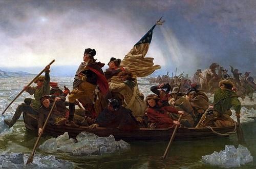 Em 1783 um tratado em Paris acabou com a guerra, reconhecendo a independência dos Estados Unidos. (Foto: Wikimedia Commons)