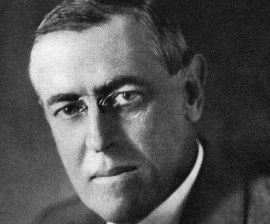 Foi o presidente americano durante a Primeira Guerra Mundial. Com o fim da Guerra, foi figura importante na criação da Liga das Nações, organização que pretendia manter a paz internacional. (Foto: Wikimedia Commons)