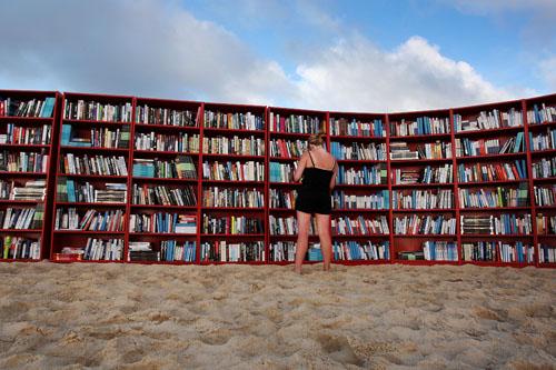 IKEA Create World's Longest Outdoor Bookcase On Bondi Beach