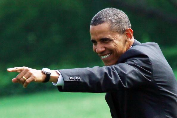 President Obama Departs White House For Chicago