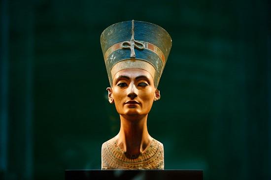 The Bust Of Queen Nefertiti
