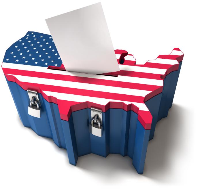 A eleição nos EUA é feita pelo voto impresso