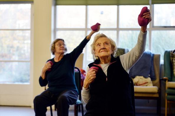 Elderly In Barnet Take Part In Activities Run By AgeUK