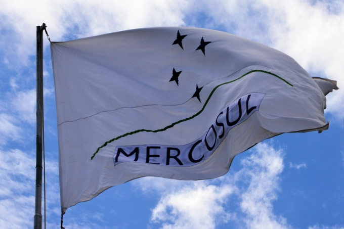 Mercosur / Mercosul flag