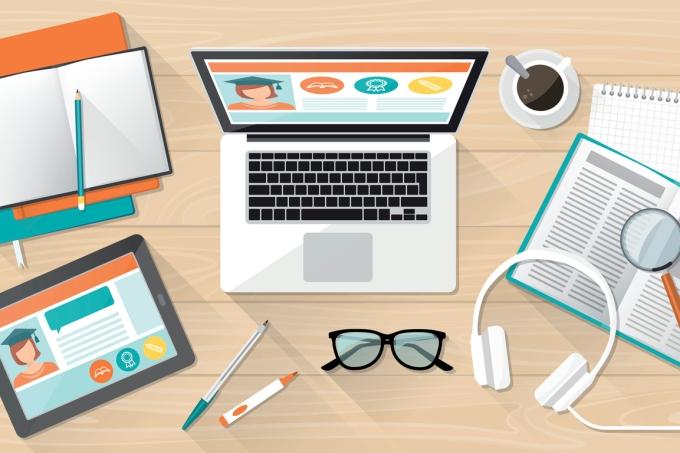 Estudando pelo computador