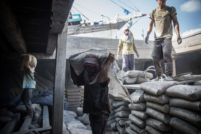 Trabalhadores em situação análoga à escravidão na Indonésia