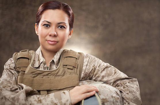 carreira militar mulher