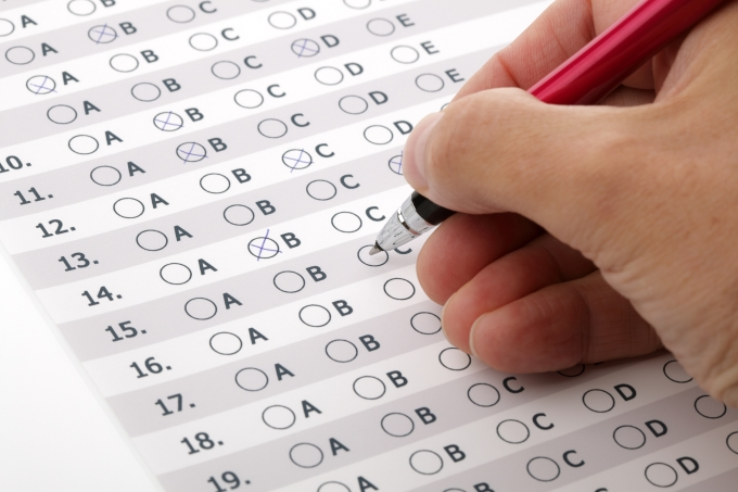Gabarito, respostas, prova, múltipla escolha, objetiva, caneta