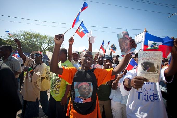 Former President Jean-Bertrand Aristide Returns To Haiti