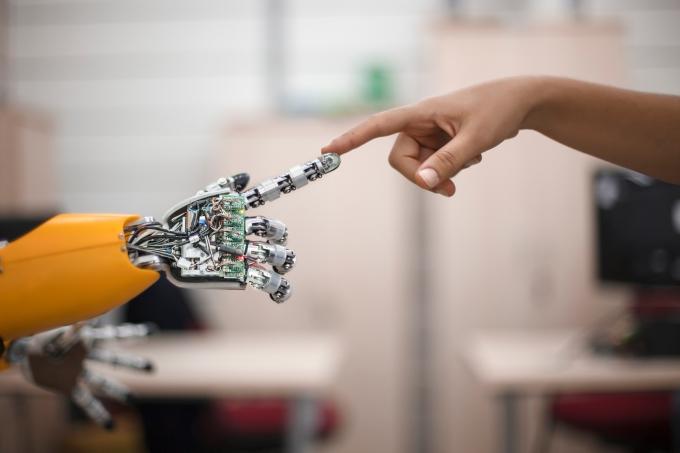 Robô, futuro, laboratório