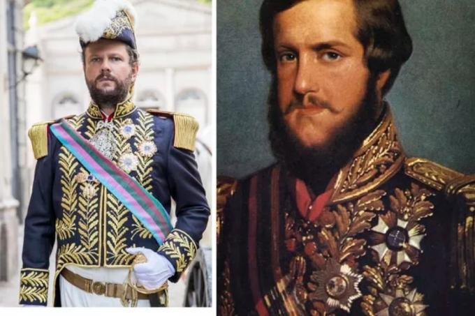 Selton Melo interpreta Dom Pedro II na novela Nos Tempos do Imperador