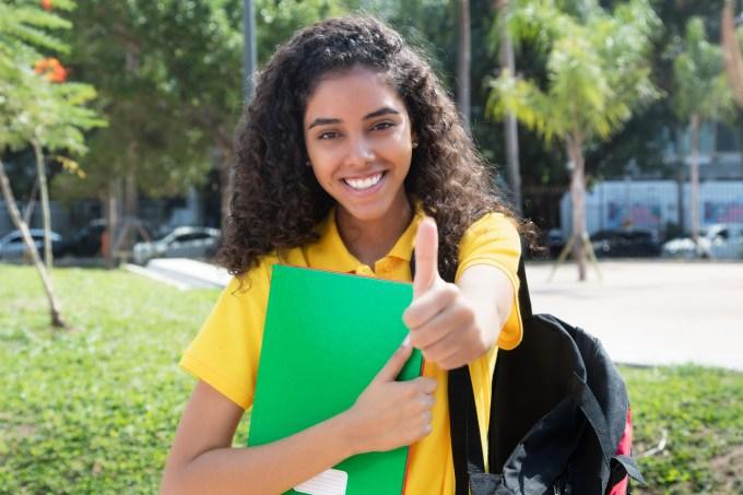 Estudante brasdileira