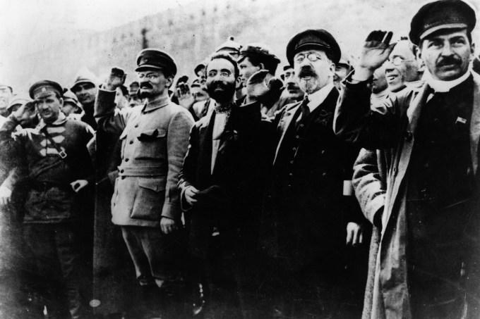 Stalin e Trotsky