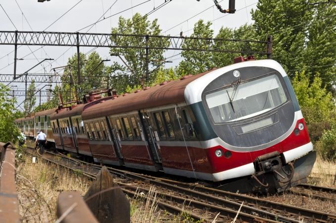 Trem descarrilado