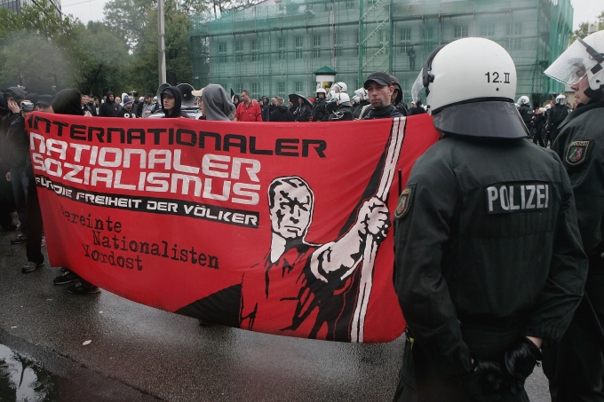 Manifestação neonazista