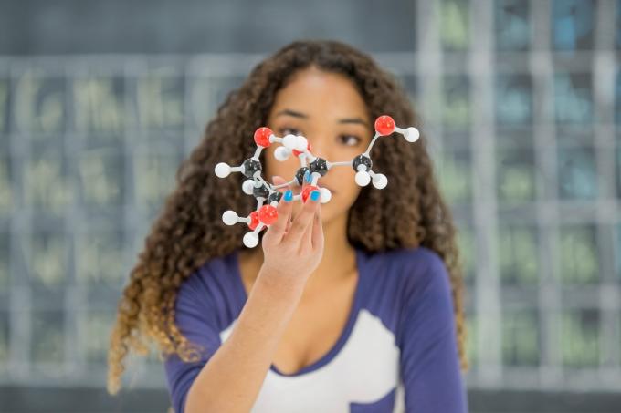 Estudante de química