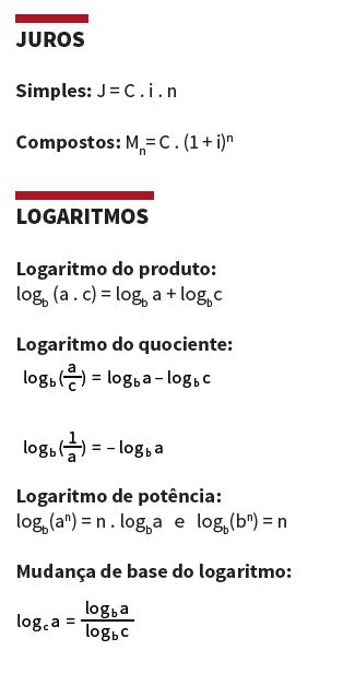 Juros e logaritmos