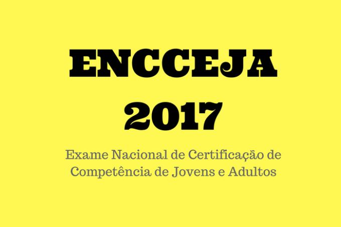 ENCCEJA 2017