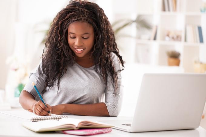 estudo escrever