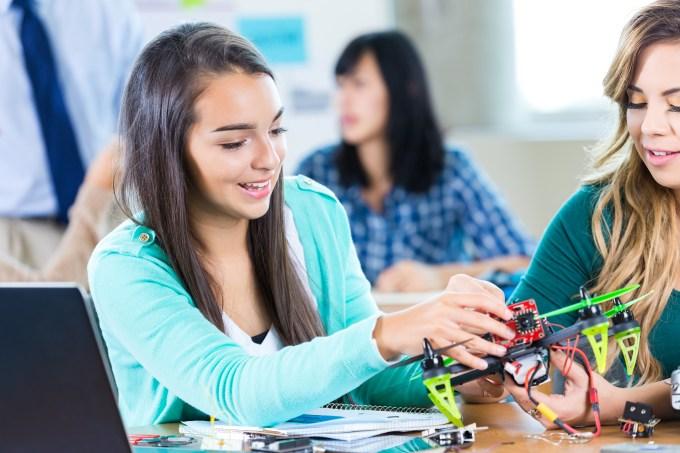 física estudante jovem escola