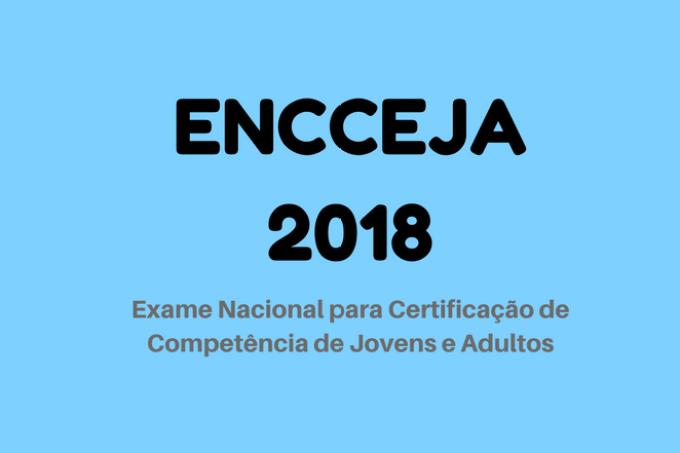 ENCCEJA 2018