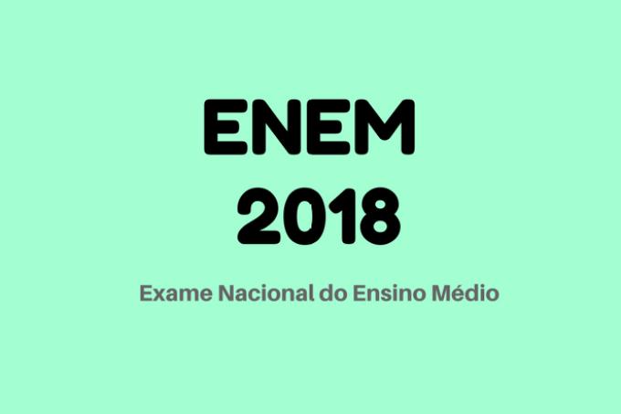 enem 2018 verde