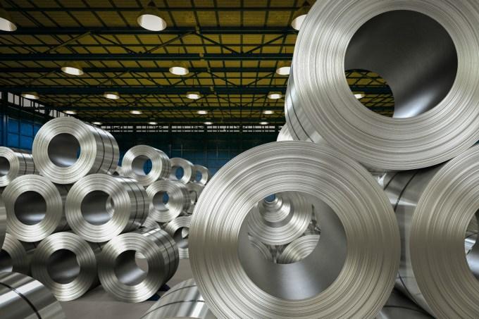 aço e alumínio