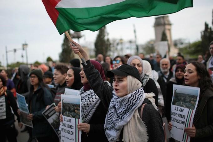 jerusalém protesto embaixada eua