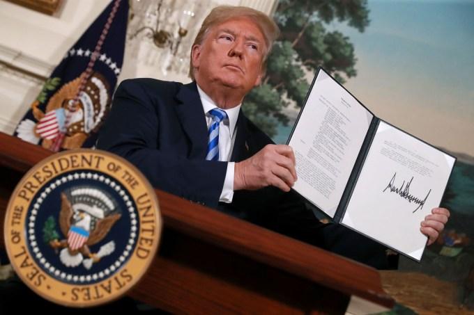 Trump acordo nuclear