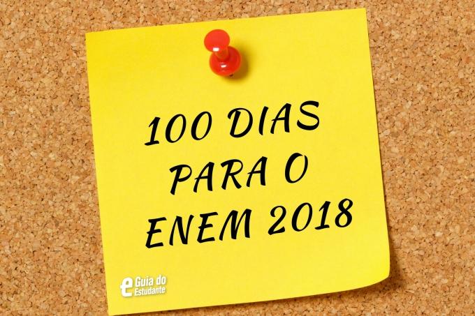 100 DIAS PARA O ENEM 2018