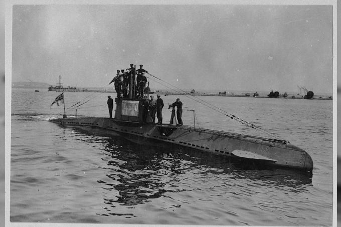 Por dentro de um submarino alemão da Primeira Guerra Mundial