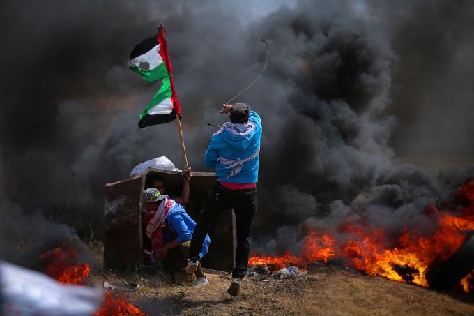 Confronto em Gaza