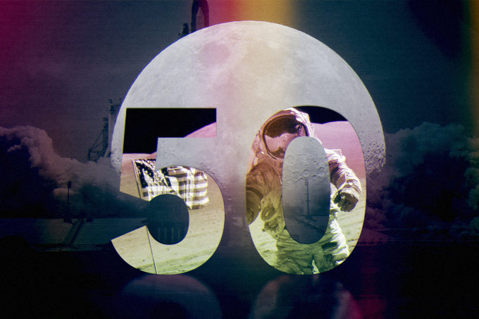 50 ANOS – Homem Na Lua