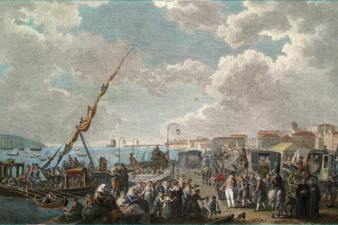 1808- entenda a transferência da Corte portuguesa para o Brasil
