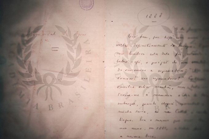 Acesse online três manuscritos originais de Machado de Assis
