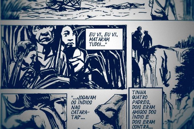 Duas obras narram a ditadura militar no Brasil em charges e quadrinhos