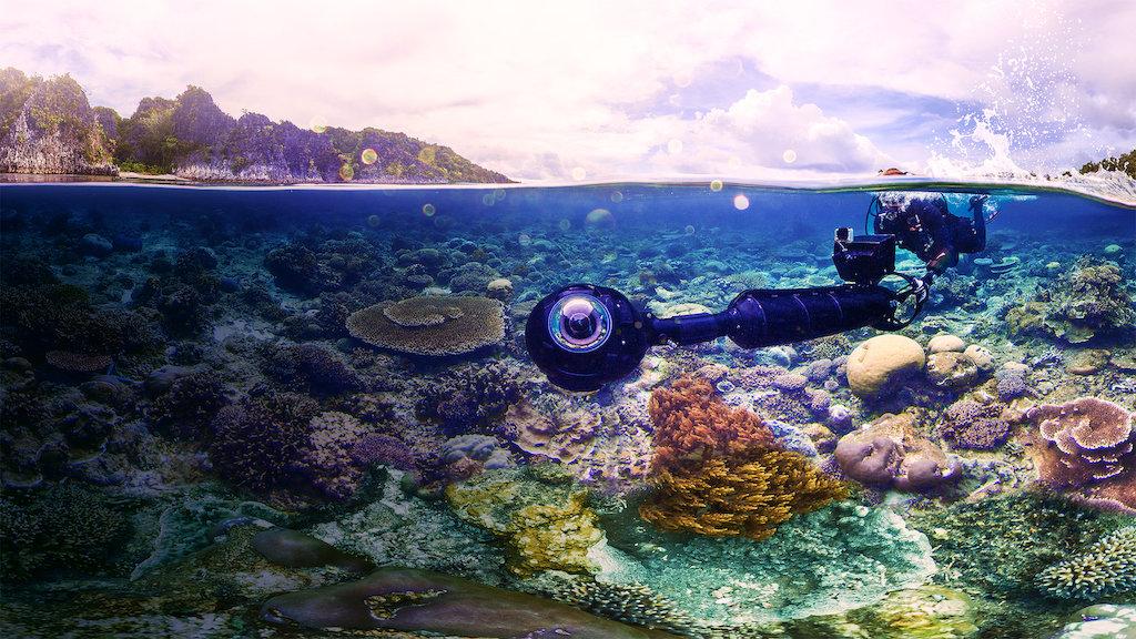 imagem do fundo do mar