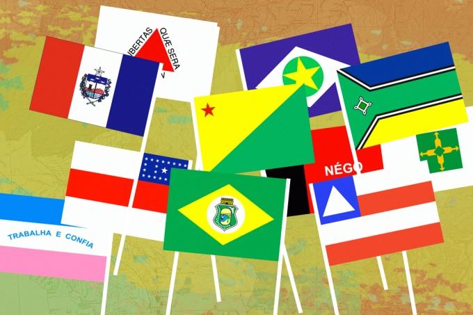 andeiras do Brasil! Descobrir as de países como França, Itália, Brasil é bem fácil, mas e do Maranhão?