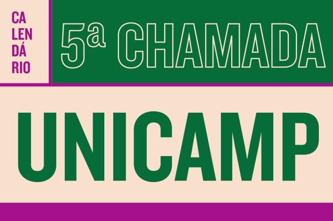 5a chamada unicamp