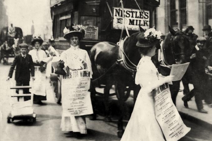 Como as mulheres conseguiram o direito ao voto