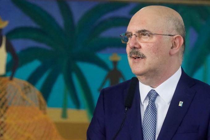 Pastor Milton Ribeiro, Ministro da Educação