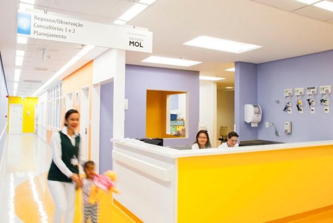 Novo hospital do Graac construído com doações da MOL, uma editora de impacto social