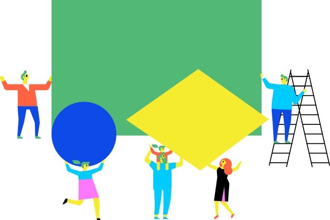 Como foi criada a bandeira do Brasil?